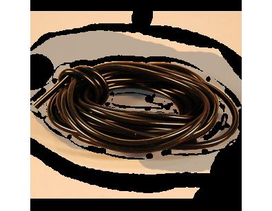 """1/4"""" Silicone Tubing--25 ft Czarny / Guma silikonowa do skrzydeł"""