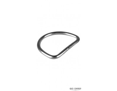 OMS 5 cm Stainless Steel D-Ring