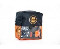 OMS Safety I (bojka sygnalizacyjna 1 metr Hybrydowa, szpulka 23m. Kieszeń Safety Pocket) SZARY