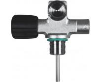 """Pojedynczy zawór DIN  US NPSM 3/4 """", z możliwością rozbudowy -LEWY-230 BAR bez zaślepki z gumową gałką"""