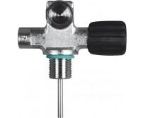 Pojedynczy zawór DIN US NPSM 3/4'' z możliwością rozbudowy - PRAWY- 230 BAR bez zaślepki z gumową gałką