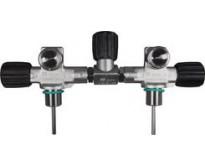 Kompletny manifold izolacyjny dla butli 7l (średnica 140mm) do 300 bar